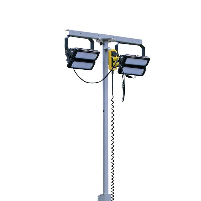belysningsmast kapten ger bra belysning och kan enkelt monteras